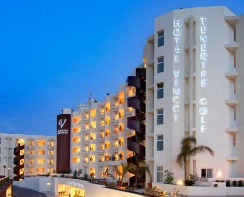 Vista exterior del hotel Tenerife