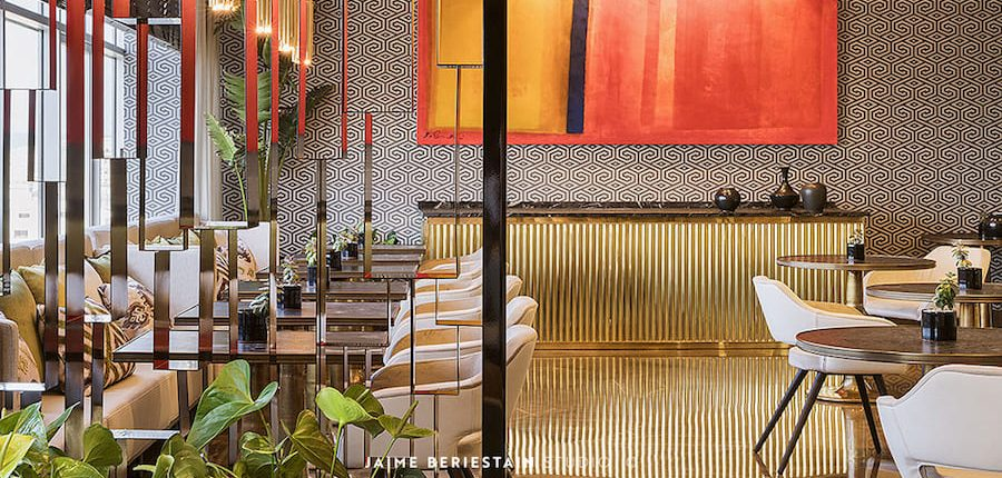 Executive loungedel hotel Hilton Tánger
