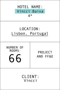 Ficha hotel Vincci baixa Lisboa