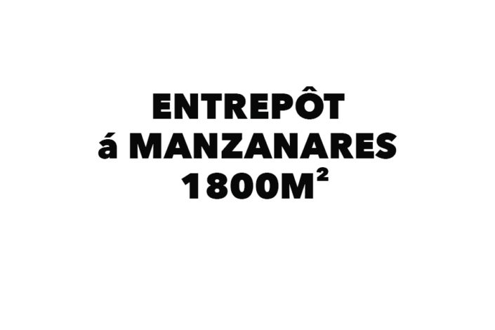 Entrepôt á Manzanares 1800 m²