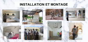3. CONTRACT: Installation et montage