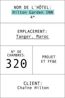 Ficha del hotel Hilton Garden INN en Tánger francés