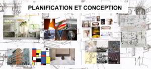 1. DESIGN D' INTÉRIEUR: Planification et conception