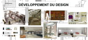 2. DESIGN D' INTÉRIEUR: Développement du design