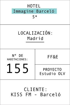Ficha información del hotel