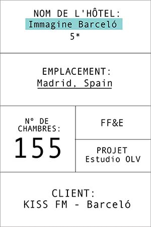 Fiche de l' hôtel Imagine Barceló
