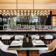 Detalle comedor restaurante