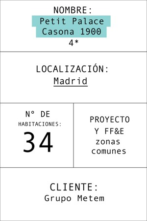 Ficha informativa del hotel
