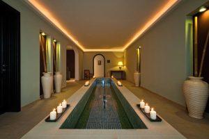 Spa del hotel piscina