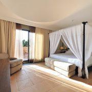 Suite del hotel con cama