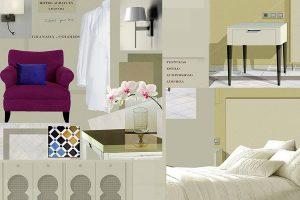 Proyecto, lámina habitación estándar