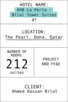 Index card Bilal Suites Tower