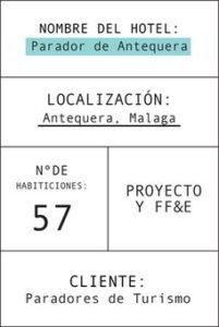 Ficha parador de Antequera