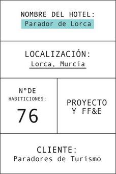 Ficha del parador de Lorca