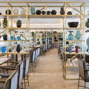 comedor espacioso del hotel Hilton Tánger