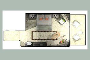 Proyecto de la habitación King