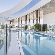 Spa piscina del hotel Hilton Tánger