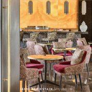 colorido Robertos bar del hotel Hilton Tánger
