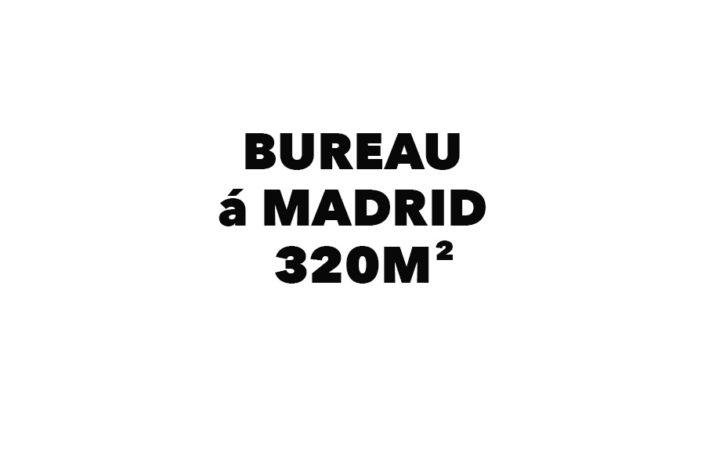 Bureau á Madrid 320 m²