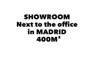 Showroom en Madrid inglés