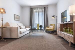 foto del salón suite