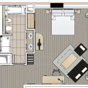 Proyecto habitación King
