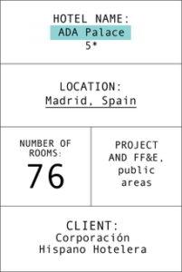 Index card hotel ada Palace