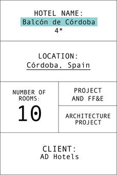 Ficha el balcón de to Córdoba en inglés