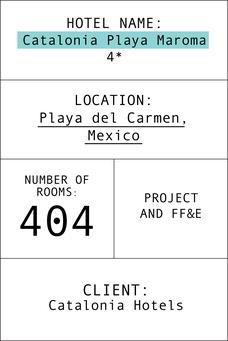 Index card hotel Catalonia Playa maroma