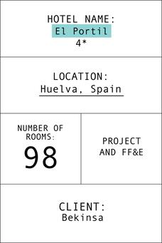 Index card hotel el Portil