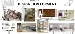 second stage of interior design