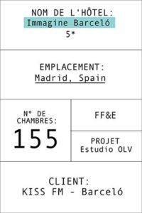 Fiche de l' hôtel Imagine Barceló