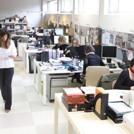 Vista del departamento de proyectos